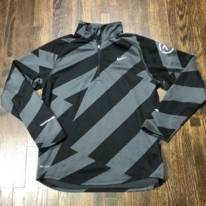 Nike Running Pullover 1/4 Zip Dri-Fit Size Large